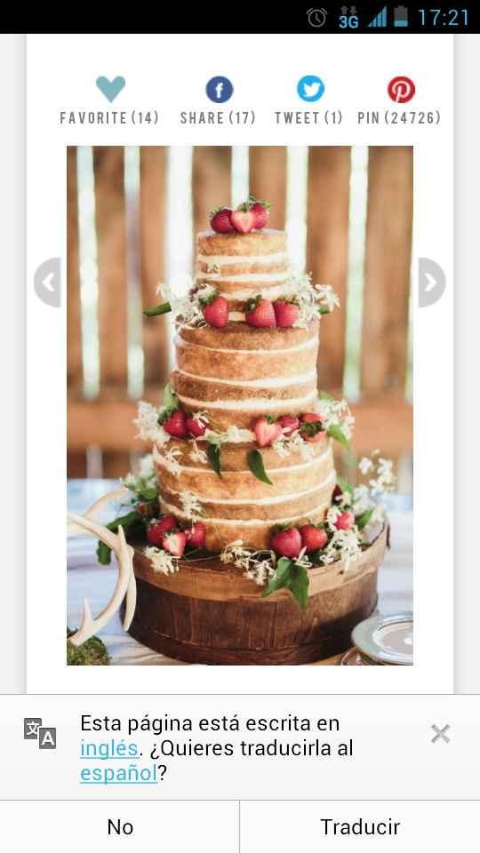 21 naked cakes: elige tu preferido! - 1