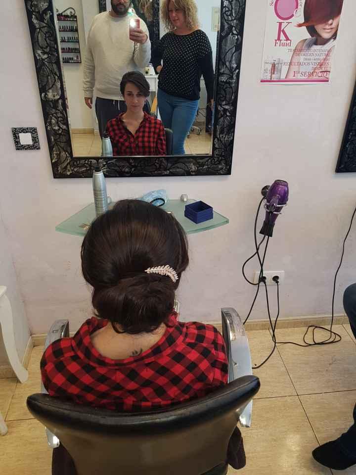 Mi prueba de peinado y maquillaje! - 4