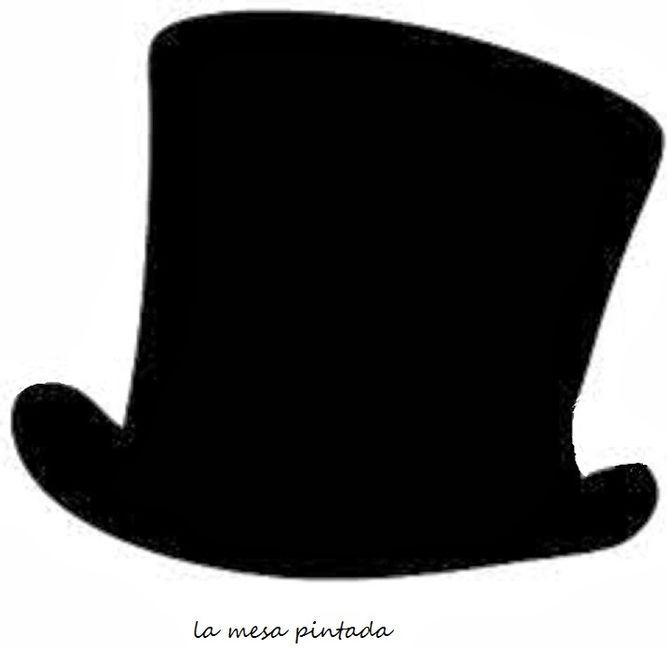 Perfecto Plantillas De Sombrero Adorno - Colección De Plantillas De ...