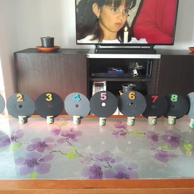 Decoración mesas 1