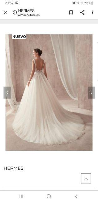 Vestido de novia.... Tienda?... On-line? 8