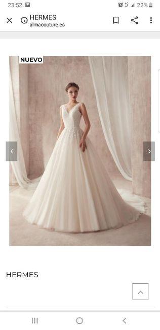 Vestido de novia.... Tienda?... On-line? 9