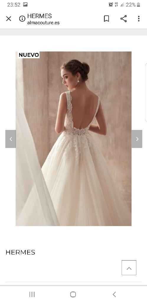 Precio vestido novia - 1