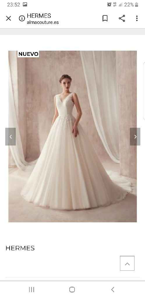 Precio vestido novia - 2