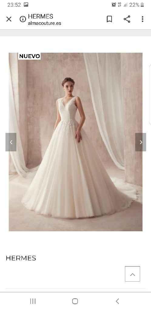 Vestido de novia por internet - 1