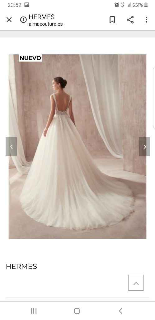 Vestido de novia por internet - 2