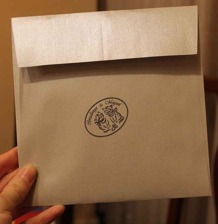 Nuestro sello personalizado