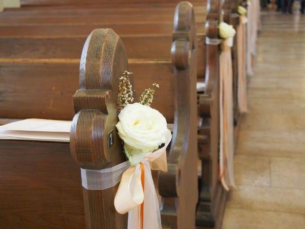 Decoraci n bancos iglesia o civil organizar una boda foro - Bancos para dormitorio matrimonio ...