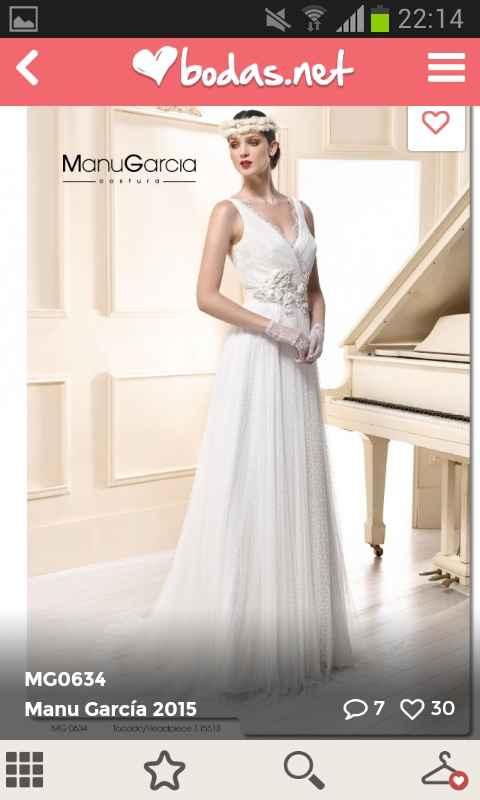 Busco un vestido con aire bohemio y natural en valencia - 1