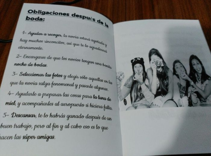 Cuaderno damas de honor - 5