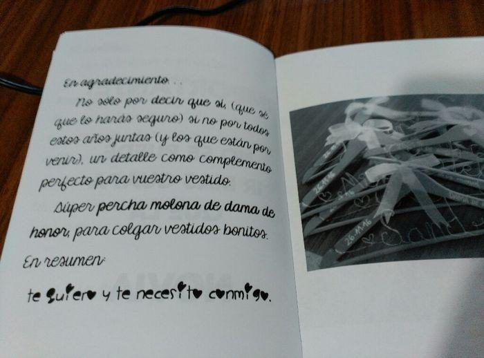 Cuaderno damas de honor - 7