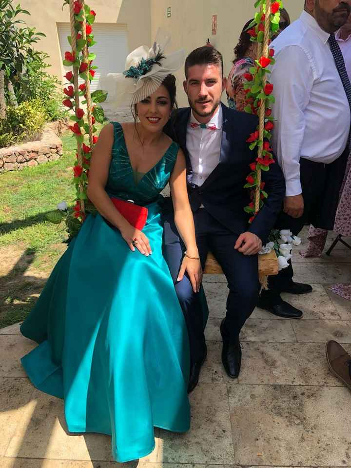 en la boda de mi hermano , antes de pedirme matrimonio
