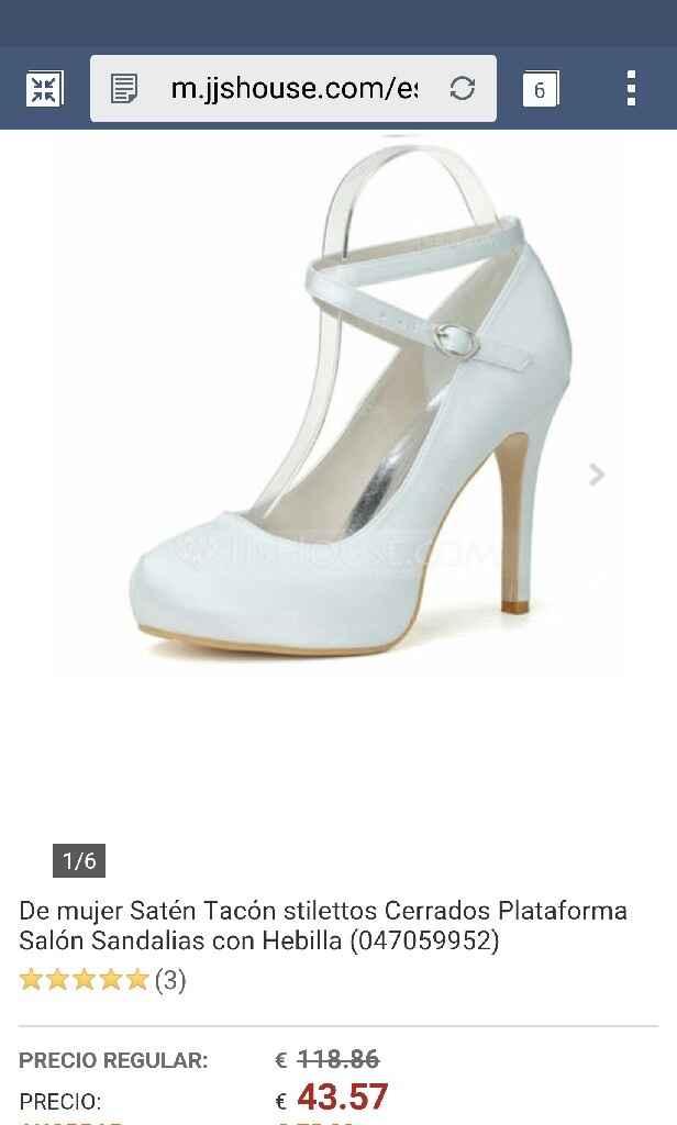 Zapatos cual os gusta mas? - 1