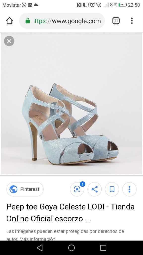 Otros zapatos para la boda que pillo! - 1