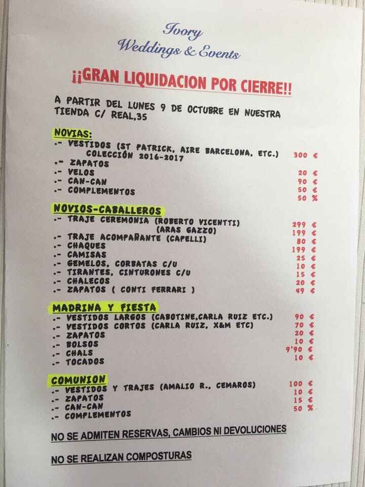 Liquidación en San Sebastián de los Reyes - 1