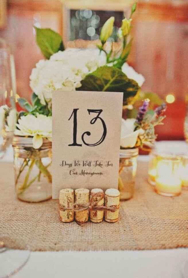 Meseros DIY para vuestra boda. ¿Te gustan? - 1