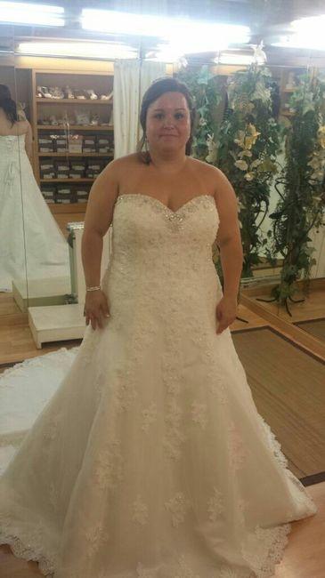 vestido novia talla grande - barcelona - foro bodas