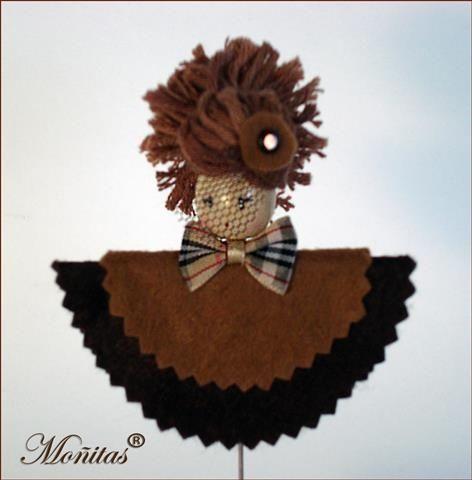 Alfiler muñeca Moñitas
