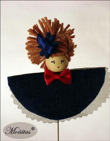 aguja muñeca Moñitas