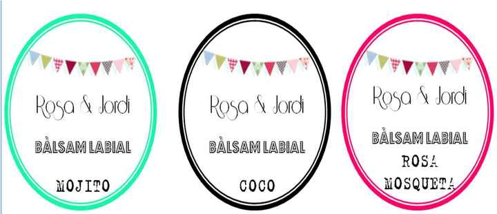 Etiquetas para Balsamos labiales 2