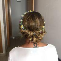 ¿alguien ha llevado el día de su boda este tipo de peinado? - 1