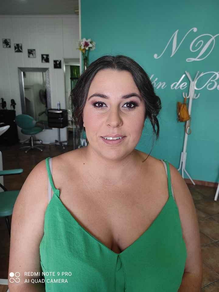 Primera prueba de maquillaje y peluquería - 1