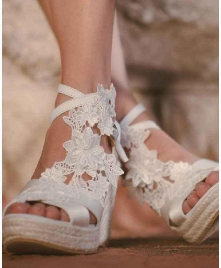 Zapatos supercómodos pero de boda - 1