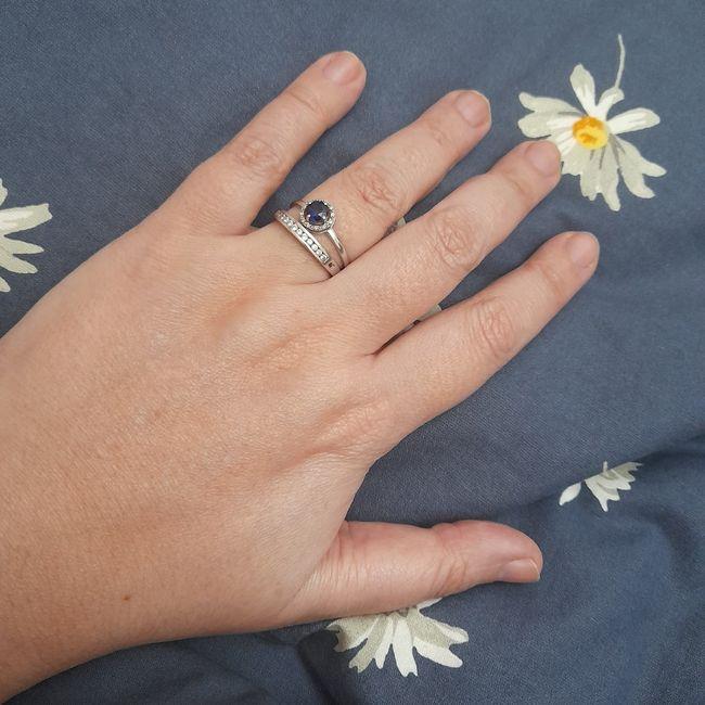 Pongamos todas nuestro anillo de compromiso 8