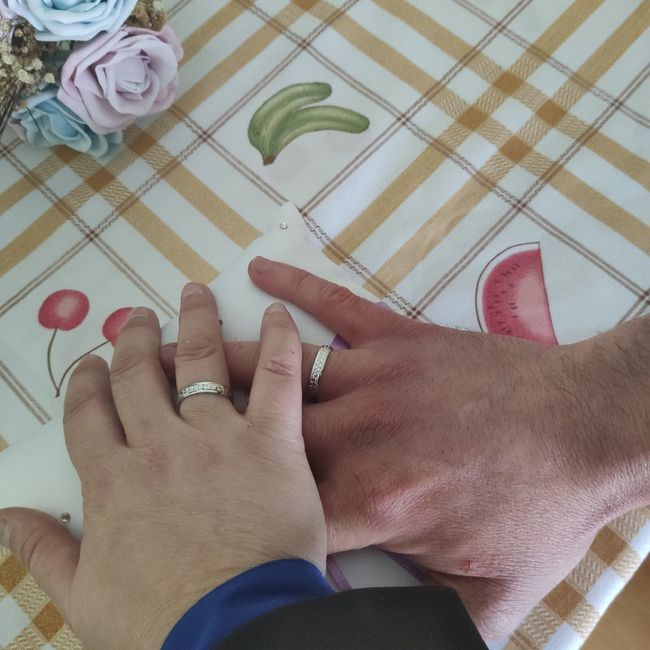Ni el coronavirus ha impedido que me haya casado por lo civil 1
