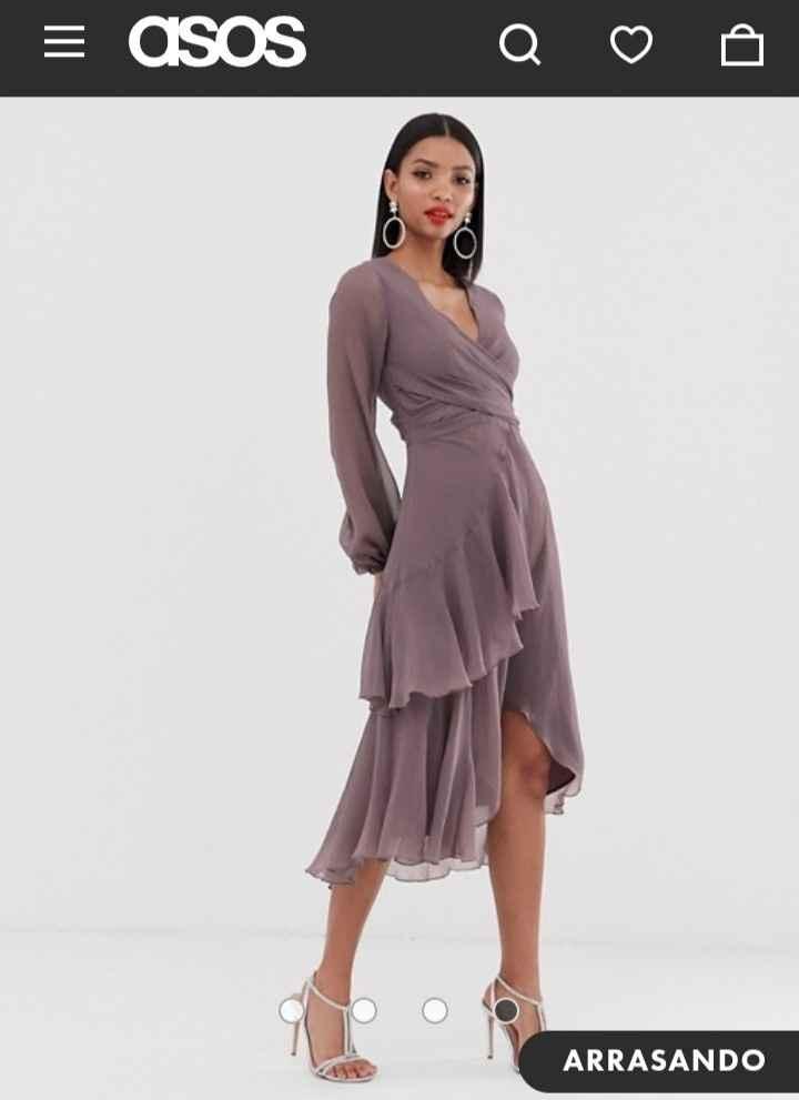 Complementos vestido color visón. - 2