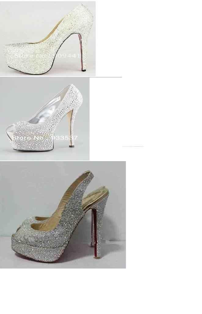 zapatos strass