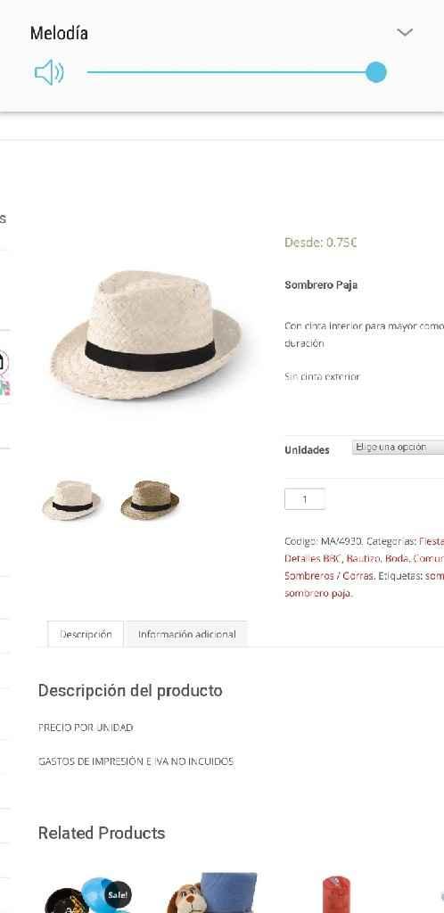 Sombreros y Pai Pais - 2