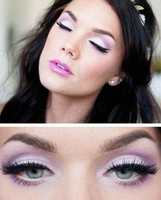 Maquillaje del día B, los ojos ylos labios del mismo color? - 1