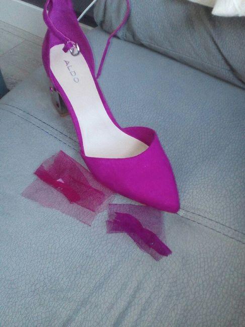 zapatos novia y velo de color - moda nupcial - foro bodas