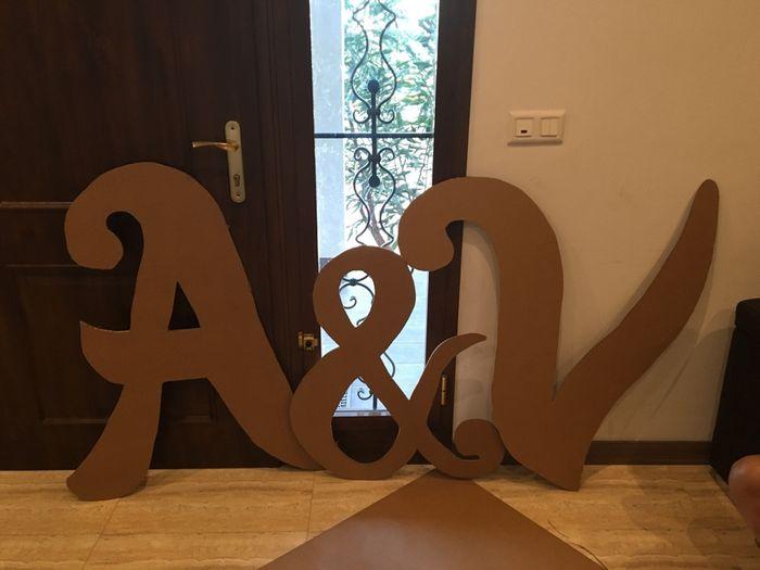 Tutorial letras gigantes cartón - 1