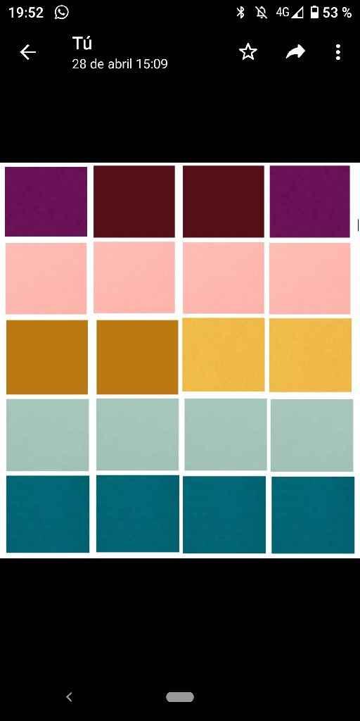 ¿Qué color predominará en tu boda? - 1