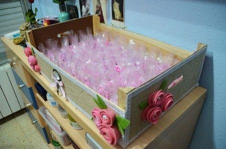 Las manualidades de mi boda imaginaci n al poder - Manualidades con cajas de frutas ...