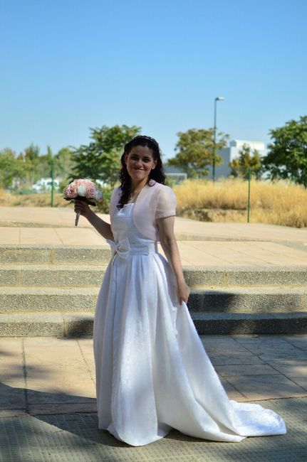 Vestido de novia diy - 1
