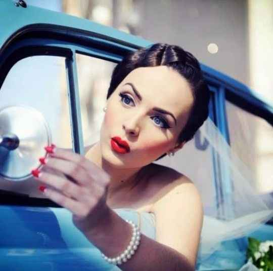 Maquillaje pin-up