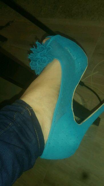 Ayuda!! necesito teñir los zapatos de novia - 2