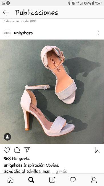 Zapatos ... como un verdarera novia Española - 1