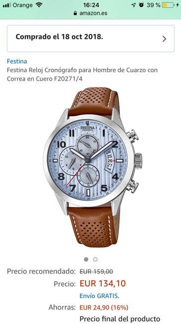 f3456008b Ayuda: reloj para el novio - Página 3 - Antes de la boda - Foro ...
