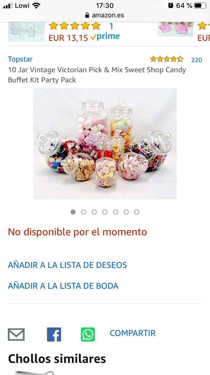 Candy bar en Aliexpress - 1