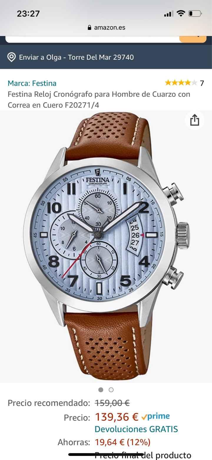 Reloj para el novio - 1