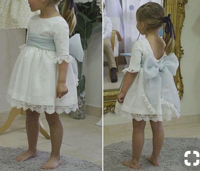 Vestido o trajes para tus hijos o pajes de boda 4