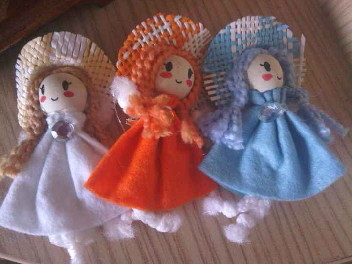 pin-muñeca para decoracion del regalo