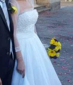 detalle de mi ramo de novia