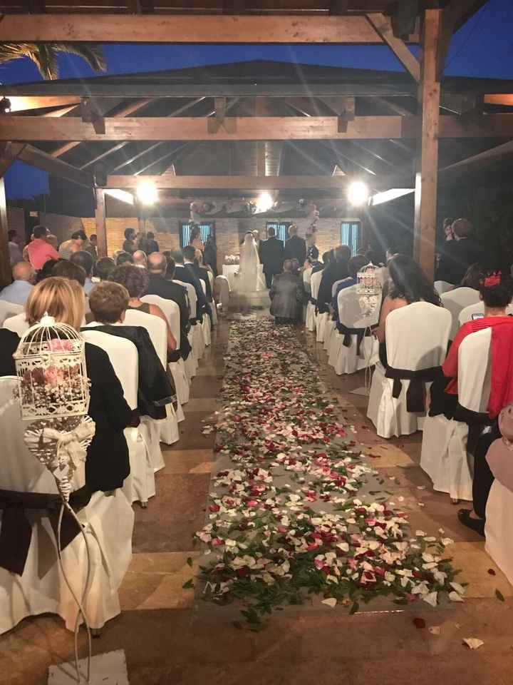 Nuestra boda ya paso 23.09.2017 - 2