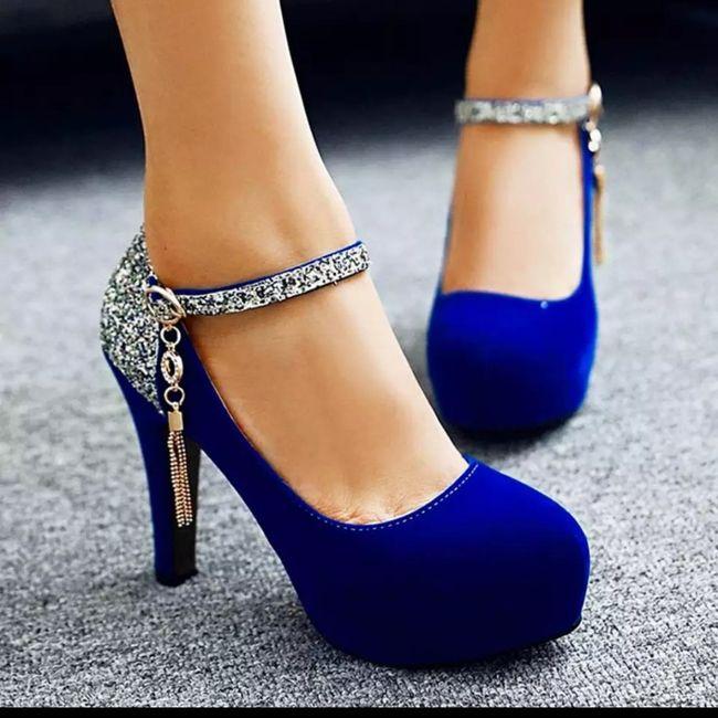 Zapatos azules!!! 1