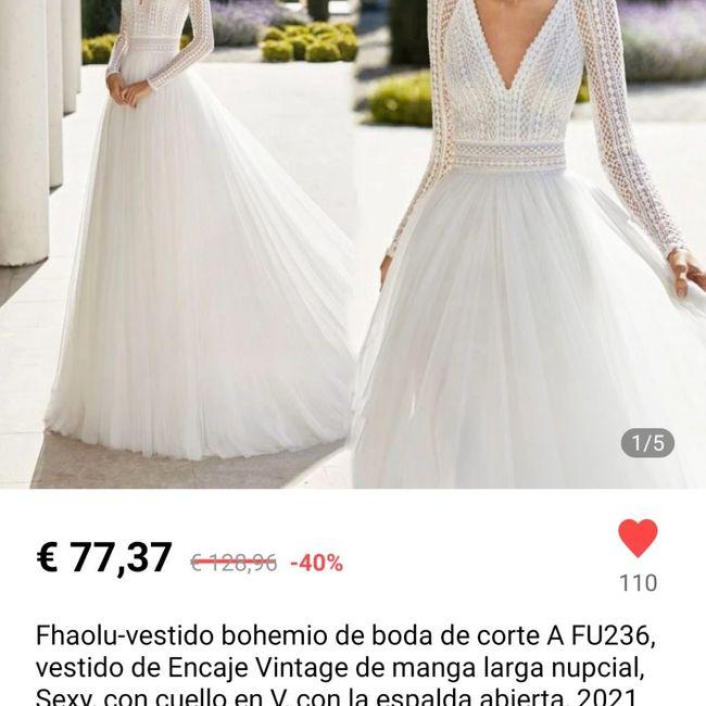 Dudas con mi vestido 😞🤦♀️ 1